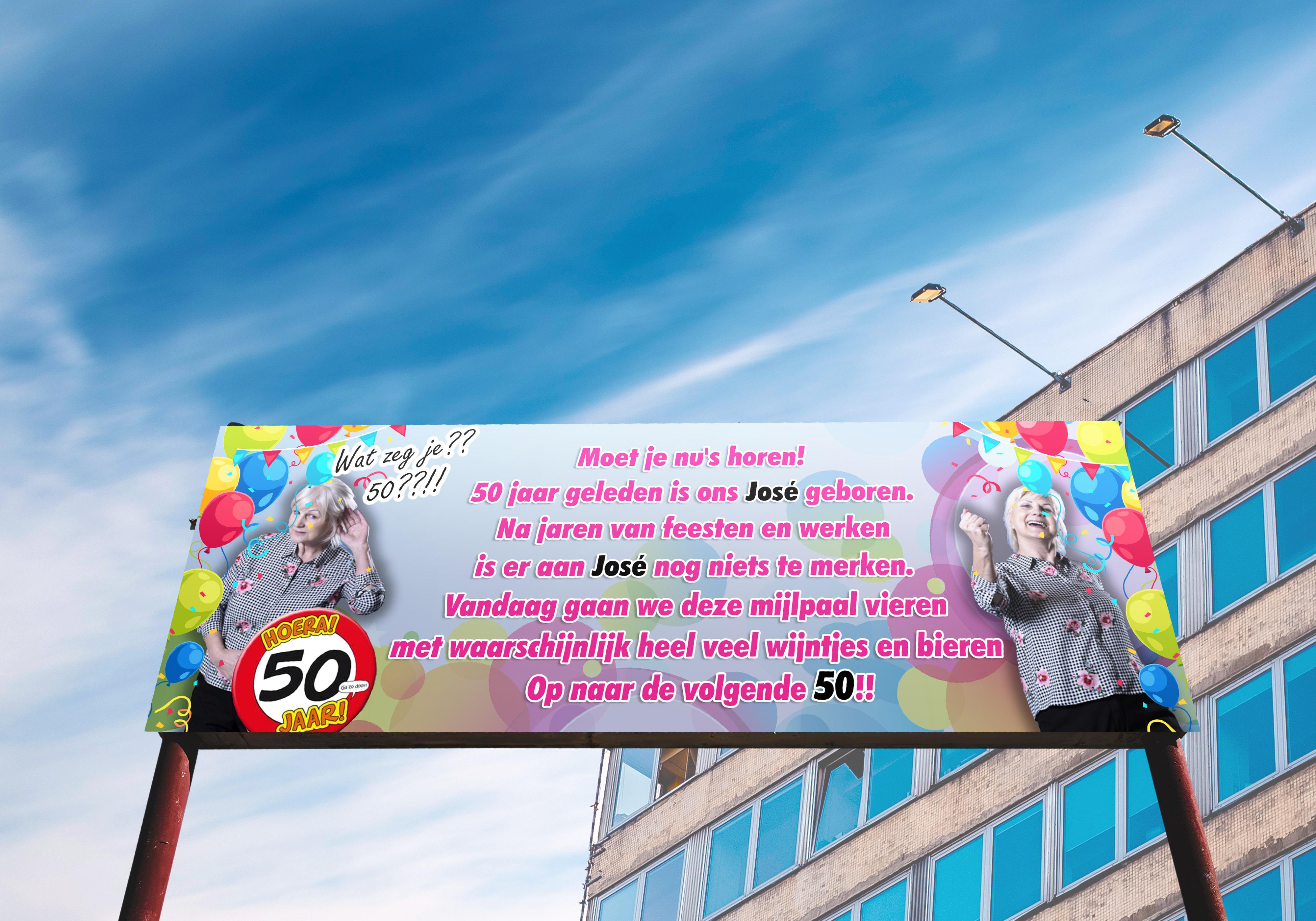 spandoek spreuken Persoonlijk Abraham of Sarah spandoek? | Spandoekabraham.nl spandoek spreuken